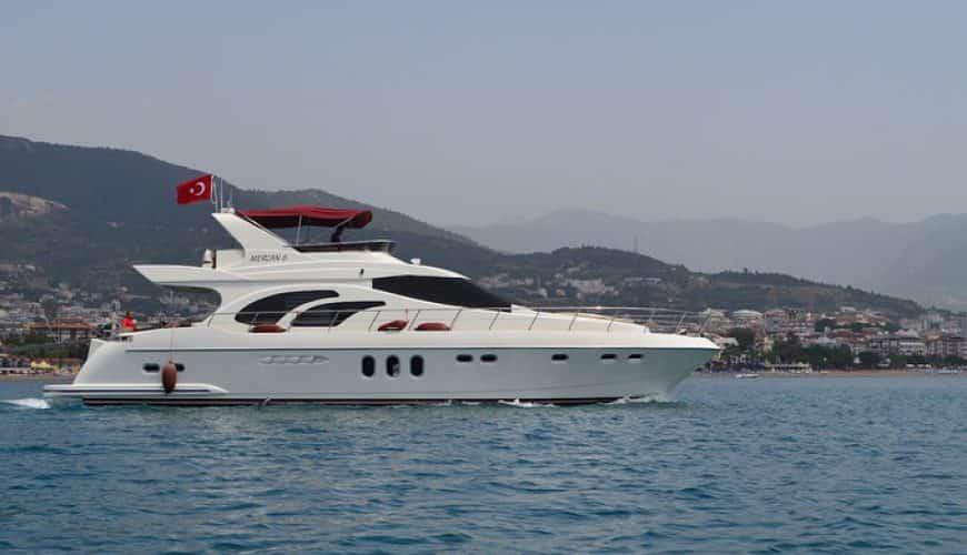 Wynajmij jacht w Antalyi