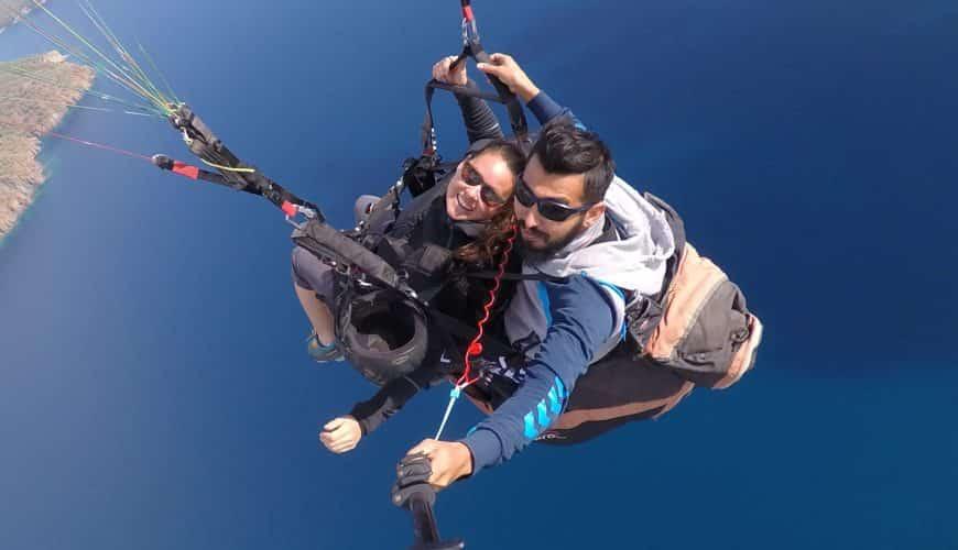 Paralotniarstwo w Adrasan z Antalyi