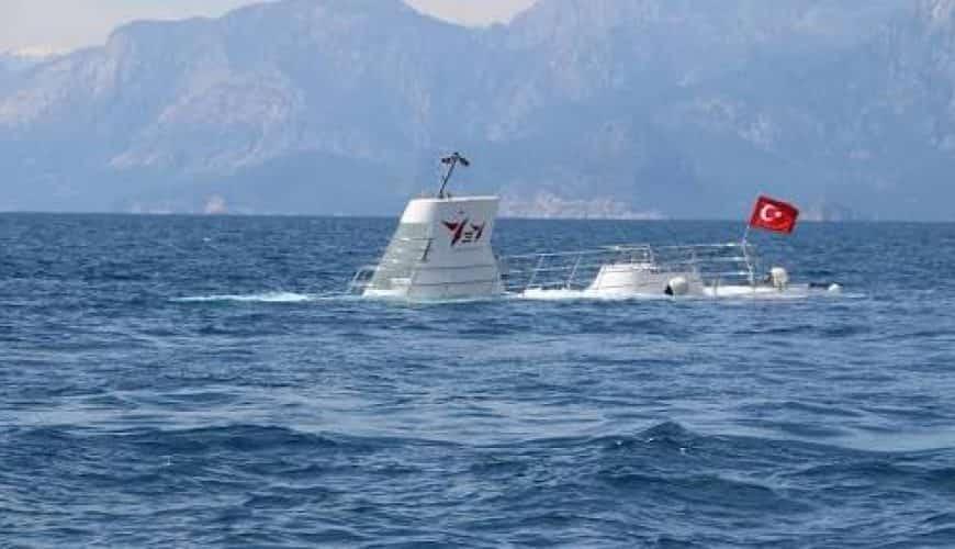 Okręt podwodny w Antalyi