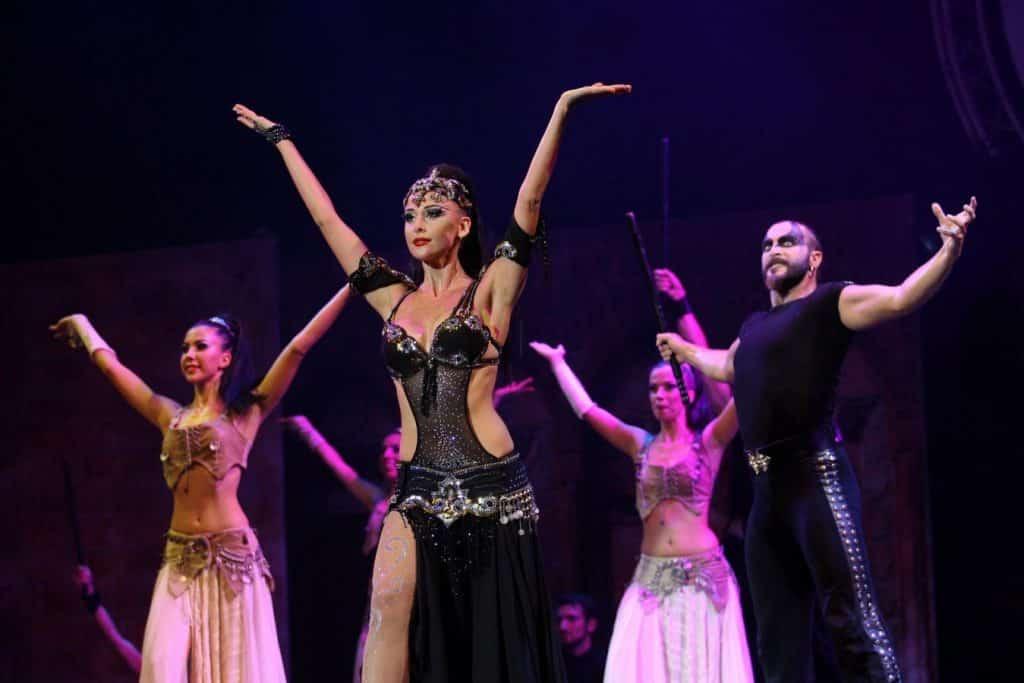 Pokaz tańca Fire of Anatolia z Belek