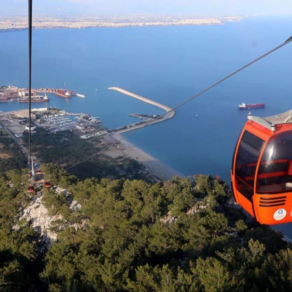 Wycieczka kolejką linową Antalya