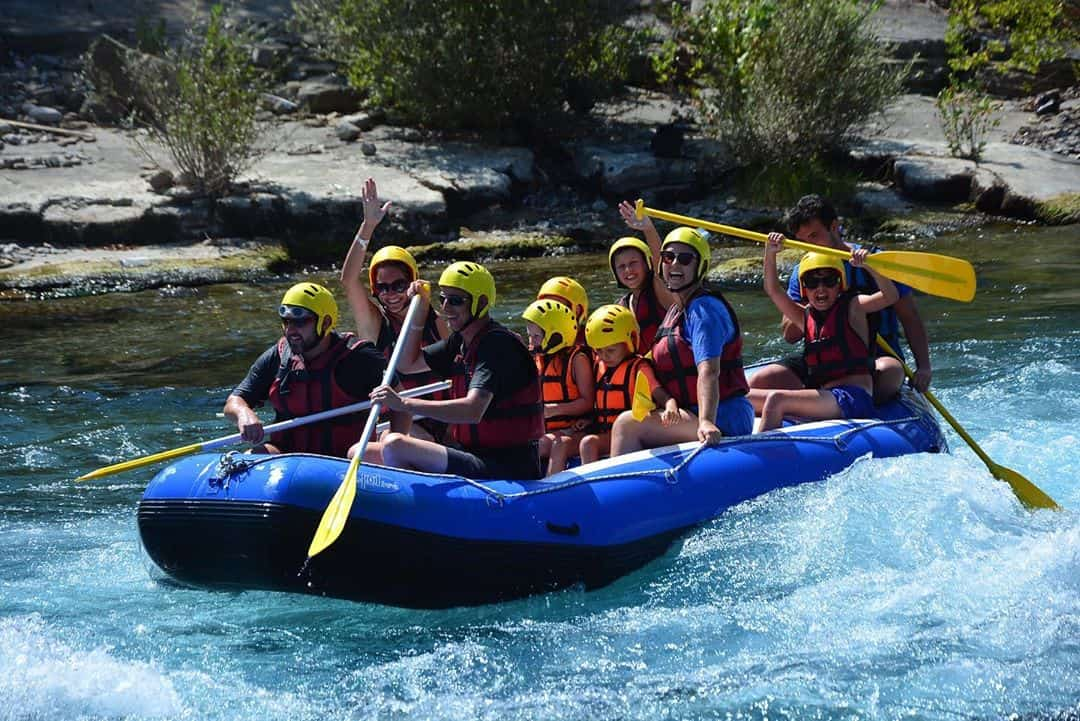 Rafting Tour Program