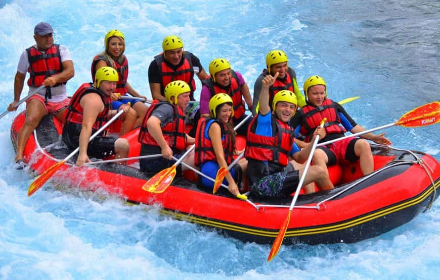 Rafting from Alanya
